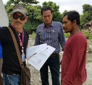 ป.รวบคนงานก่อสร้างหนีคดีลักทรัพย์ขโมยตัดสับปะรดชาวสวน อ้างหาเงินซื้อยาบ้าเสพ