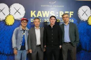 """เลอค่าน่าชม! เซ็นทรัล เอ็มบาสซี่ เปิดตัว """"KAWS:BFF"""" ครั้งแรกในโลก"""