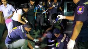 มือปืนเมืองเพชรโหดโบกรถก่อนยิงเซียนพนันเฒ่าชาวกรุงวัย 75 ดับ
