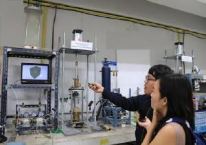 วิศวกรรมเทคนิคธรณี มจธ.พัฒนาชุดทดสอบและจำลองสภาพชั้นดินทุกความลึก