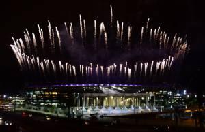 """สุดอลังการ!! ชม """"บราซิล"""" ซ้อมจุดพลุพิธีเปิด """"โอลิมปิก"""""""