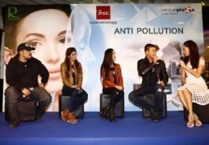 """""""ปีเตอร์"""" ควง """"แอนนี่"""" และเดอะแก๊งค์ ร่วมกิจกรรม """"BSC ANTI POLLUTION สวยออร่า ท้ามลภาวะ"""""""