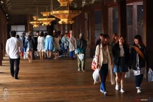 Alone in Kyoto ๒.๐ : Nishi hongan ji วัดนี้ไม่ธรรมดา