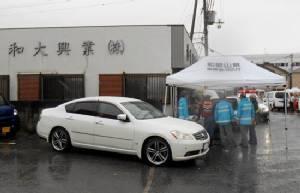 Japan gunman kills construction worker in rare shooting