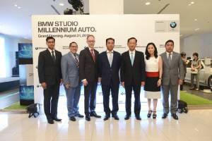 มิลเลนเนียมออโต้  รุกเซ็นทรัลเวิลด์ ชูจุดขาย BMW Studio