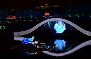 (ชมคลิปเต็ม) จีนเลี้ยงรับผู้นำ จี20 ริมทะเลสาบอลังการ ผสานตะวันออก-ตก