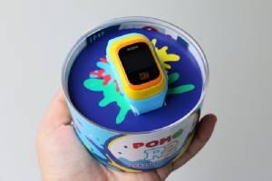 Review : นาฬิกาป้องกันเด็กหายตัวใหม่ POMO Kids R2 จอสี ทัชสกรีน กันน้ำได้