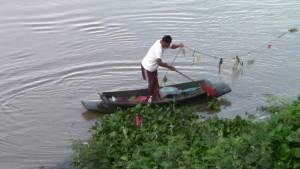 """แม่น้ำมูลขึ้นสูงจากอิทธิพล """"ราอี"""" ชป.เฝ้าระวังป้องกันน้ำท่วมชุมชนสองฝั่งแม่น้ำ"""