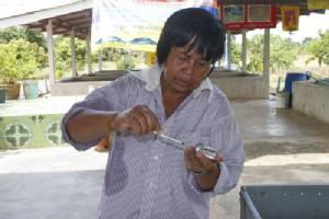 เกษตรกรแปดริ้วเพาะพันธุ์ปลาดุกขายรายได้งาม ถ่ายทอดความรู้สู่เพื่อนเกษตรกร