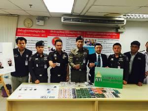 รวบคาสุวรรณภูมิแก๊งไนเจอร์ขนบัตรเครดิตปลอม 269 ใบ หวังใช้ในไทย