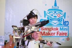 เมกเกอร์พร้อมไหม? ทำของมาอวด Bangkok Mini Maker Faire ปี 2