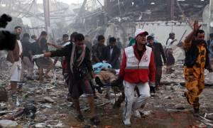 พันธมิตรซาอุฯ เตรียมสืบสวนกรณีถล่มงานศพเยเมนตายเจ็บหลายร้อย