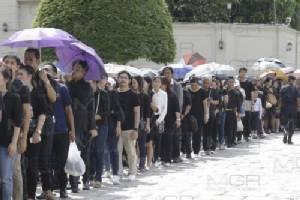 สำนักพระราชวัง ปิดลงนามถวายความอาลัยวันแรก มีประชาชนร่วมลงนามกว่า 1.8 หมื่นคน