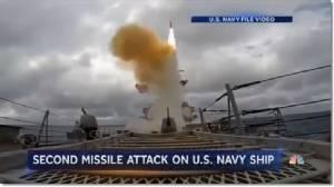 เรือพิฆาตสหรัฐฯ USS Mason ถูกโจมตีในทะเลแดง ต้องยิงมิสไซล์สกัดนอกฝั่งเยเมนอีกครั้ง