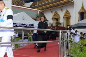 กษัตริย์จิกมี-พระราชินีแห่งภูฏานเสด็จฯถวายราชสักการะพระบรมศพ