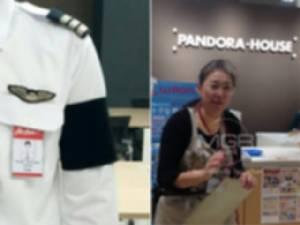 """พบแล้ว! """"คุณป้า"""" ในห้างญี่ปุ่น ช่วยนักบินไทยทำปลอกแขนถวายความอาลัย """"ในหลวง รัชกาลที่ ๙"""""""
