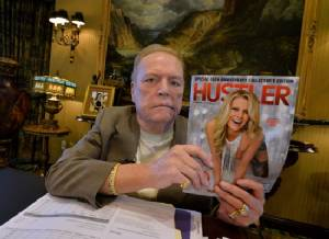 Larry Flynt offers $1m for compromising Trump tapes