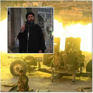 """ชุดภาพยึดโมซุลคืนสุดระทึก: """"รบพิเศษอิรัก"""" ใช้ปืนใหญ่รม IS ตั้งแต่ 6 โมงเช้า ฟ็อกซ์นิวส์ประกาศ """"อัล บักห์ดาดี"""" หลบในโมซุล"""