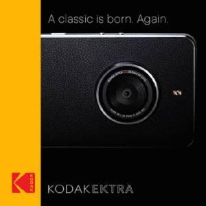 มาแล้วสมาร์ทโฟนดีไซน์กล้อง Kodak EKTRA
