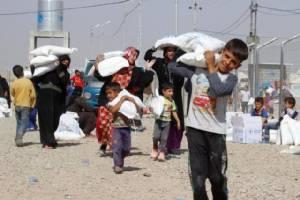"""""""สภาเสี้ยววงเดือนแดงตุรกี"""" ส่งความช่วยเหลือสำหรับคน 10,000 คนไปโมซุล"""