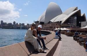 """ส่องคู่รัก """"มาร์กี้ - ป๊อก"""" กับทริปชิลล์ ๆ ท่องออสเตรเลีย"""