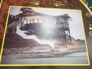 ชาวพิบูลฯ สร้างพลับพลาที่ประทับรำลึกพระมหากรุณาธิคุณเสด็จเยี่ยมเมื่อ 61 ปีก่อน