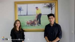 """""""มด-มังกร"""" เดินตามรอยพ่อ ศึกษาดูงานศูนย์รักษ์สุนัขหัวหิน โครงการในพระราชดำริ"""