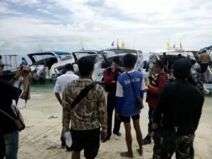 ตร.น้ำกระบี่คุมเข้มเรือโดยสาร สร้างความปลอดภัยท่องเที่ยวทางทะเล