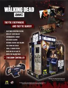 """ซีรีส์ดัง """"Walking Dead"""" เตรียมออกเป็นเกมตู้ ม.ค.ปีหน้า"""