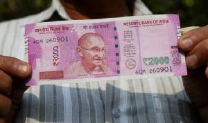 India's new 500 and 2,000 rupee banknotes