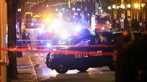 ยิงกันเจ็บ 5 รายใกล้จุดประท้วงต้านทรัมป์เป็น ปธน.สหรัฐฯ ตร.รุดสืบสวน