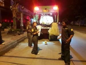 พบศพทารกเพศชายถูกใส่กล่องทิ้งรวมกับขยะบริเวณนาคนิวาส
