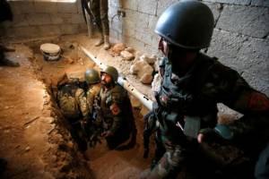 อิรักยึดพื้นที่โมซุลฝั่งตะวันออกเพิ่ม ไอเอสขุดอุโมงค์รอบเมืองดักโจมตี