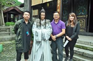 """บ.แฮนด์ซั่ม ดึงซุปตาร์ไทยโกอินเตอร์จีน  ส่ง """"ดีเจพุฒิ"""" ประเดิมละครจีนเรื่องแรก พร้อมดัน """"ไมค์"""" โปรโมทละครจีน"""