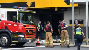"""เกิดเหตุชายจุดไฟเผา """"ธนาคารออสซี่"""" เจ็บ 26 ราย ยังไม่ทราบแรงจูงใจ"""