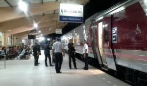 รถไฟทับหนุ่มจิตประสาทตายคาสถานีรถไฟอุบลราชธานี