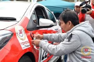 โตโยต้าไทยซิวที่6ศึกNetz Cup Vitz Race 2016