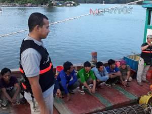 ตร.น้ำนราฯ จับเรือประมงเวียดนาม 2 ลำ รุกน่านน้ำไทย