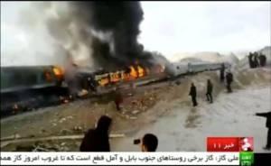 รถไฟโดยสาร 2 ขบวนชนกันในอิหร่าน ตายแล้ว 31 ราย คาดตัวเลขจะเพิ่มขึ้นอีก