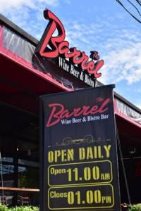 """ชิลชิลไลฟ์สไตล์คนรุ่นใหม่ต้องที่นี่ """"เดอะ บาร์เรล"""" ร้านอาหารกึ่งผับกึ่งบาร์"""