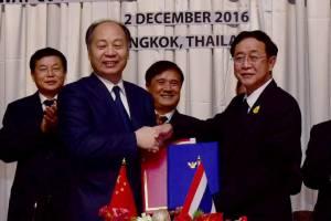 """ขยับตอกเข็มรถไฟไทย-จีน มี.ค.60 """"อาคม""""เน้นไทยต้องไม่เสียเปรียบ"""