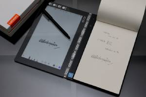 Review : Lenovo Yoga Book แท็บเล็ต 2 in 1 มีคีย์บอร์ดและปากกาใช้หมึกจริง