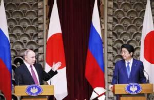 """""""ปูติน"""" เซียนเหยียบเมฆ ชนะขาดในเวทีสานสัมพันธ์ญี่ปุ่น-รัสเซีย"""
