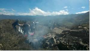 In Clip: ด่วน!! เครื่องบินลำเลียงกองทัพแดนอิเหนาตกในปาปัวช่วงระหว่างฝึกซ้อม ดับยกลำ 13 ศพ