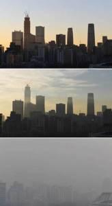 หมอกมลพิษบุกภาคเหนือจีน เทียนจินอ่วมสุด ยกเลิกเที่ยวบินระนาว (ชมภาพ)
