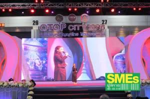 """ชุด 2 สีสัน """"OTOP City 2016 ของขวัญภูมิปัญญาไทย ใต้ร่มพระบารมี"""""""