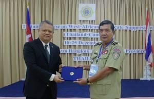 ป.ป.ส. ไทยผนึกกัมพูชา สกัดกั้นเครือข่ายนักค้ายาเสพติดข้ามชาติ