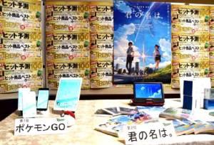 """ญี่ปุ่นเผยอันดับ """"10 สินค้ายอดฮิต"""" ปี 2016"""