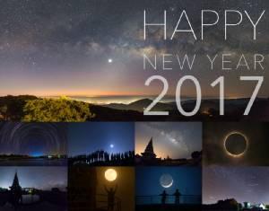 ง่ายๆ มาทำปฏิทินดาราศาสตร์ไว้แจกเพื่อนช่วงปีใหม่กันเถอะ