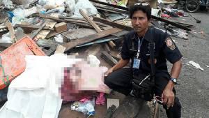 พบศพทารกยัดถุงทิ้งกองขยะ ลูกจ้างเขตบางนาเปิดเจอโร่แจ้งตำรวจ